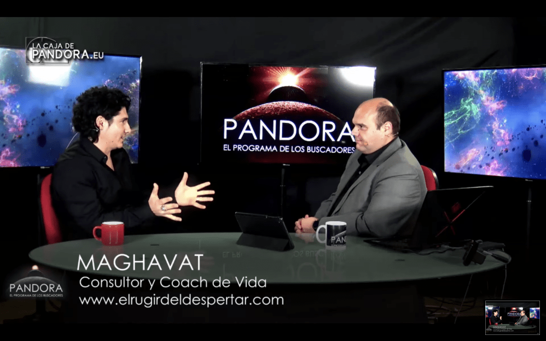 Superación Personal – Entrevista en vivo en la Caja de Pandora